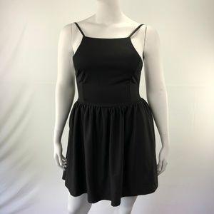Halter XL Sleeveless Backless Short Sexy Dress